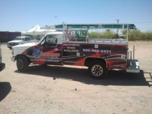 Air Maintenance HVAC Truck Tucson