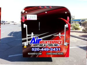 Air Maintenance HVAC Trailer Tucson